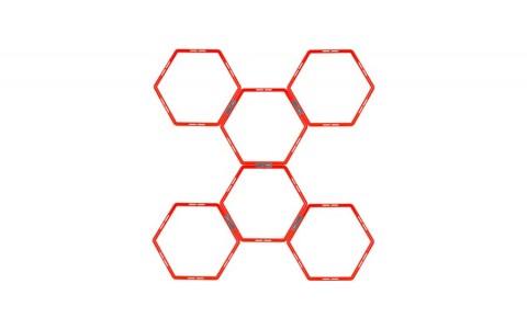 Grid Agilitate, Avento, Hexagon, Portocaliu