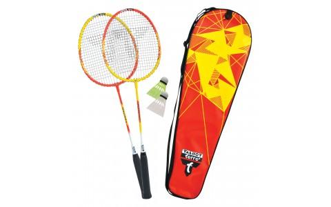 Set badminton, Talbot Torro, Federball Set 2-Fighter, Rosu-Galben