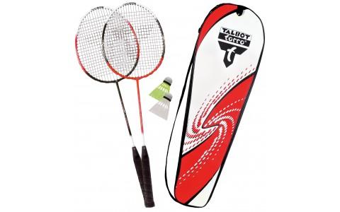 Set Badminton, Talbot Torro, 2 Combat, Rachete + Fluturasi + Husa