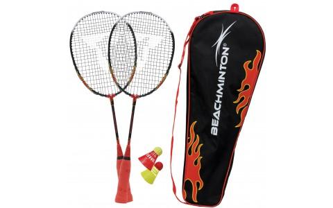 Set Badminton, Talbot Torro, Rachete + Fluturasi + Husa