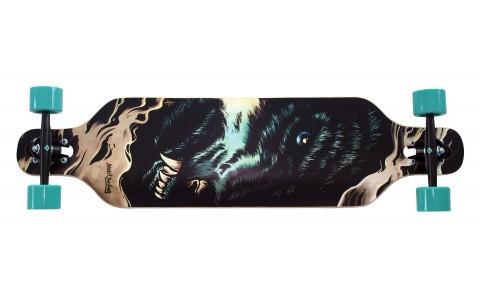 """Longboard Street Surfing, Freeride 39"""", Wolf"""