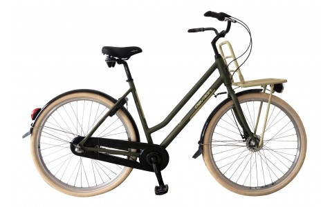 Bicicleta Oras, Devron, 2862 Nelson, Verde Mat, Cadru Aluminiu