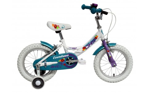 Bicicleta Copii, DHS, Countess 1404 (2016), Roti 14 inch, Geometrie Fete