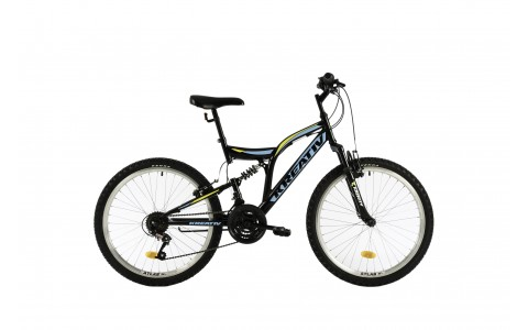 Bicicleta Copii, DHS, Kreativ 2441, Model 2018, 420 mm
