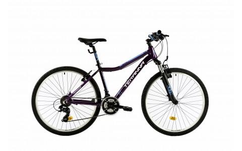 Bicicleta Mountain Bike Dama, Hardtail, DHS Terrana 2622, Model 2018