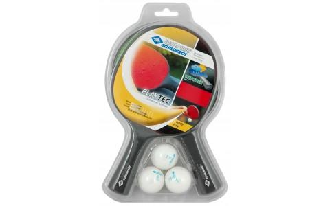 Set 2 Palete Tenis de Masa, Donic, PlayTec Control, + Set 3 Mingi