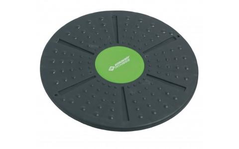 Disc Balans, Schildkrot Fitness, Wobble Board, Negru - Verde, 39.5 cm