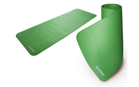 Saltea Fitness, Schildkrot Fitness, Cauciuc, Verde, 180 x 61 x 1.5 cm