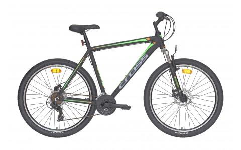 Bicicleta MTB Cross Viper MDB, 46cm, 27.5, negru-verde