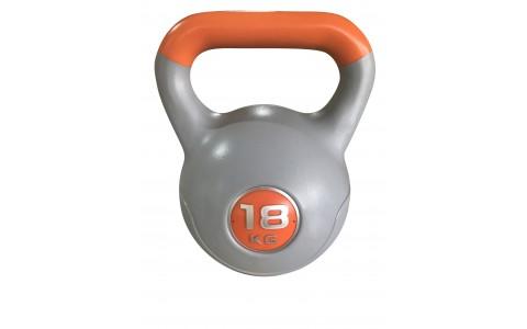 Gantera Kettlebell Neagra, Rega Fitness, 18KG