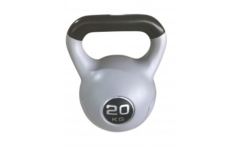 Gantera Kettlebell Neagra, Rega Fitness, 20KG