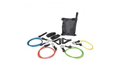 Set tuburi elastice , diferite culori, Rega Fitness