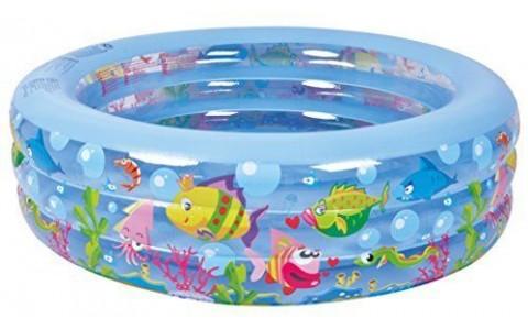 Piscina Gonflabila, Jilong, Aquarium, 195x50cm