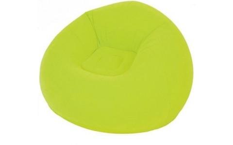 Scaun gonflabil Jilong, Easigo Lazy,105x105x65 cm, verde