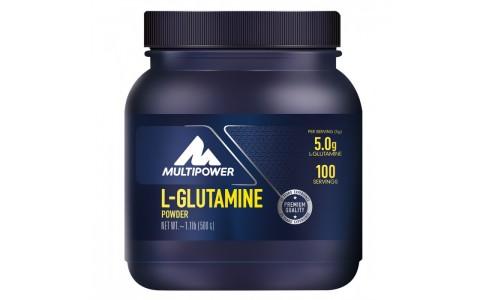 Supliment L-Glutamina, Multipower, 500 g, 100 portii