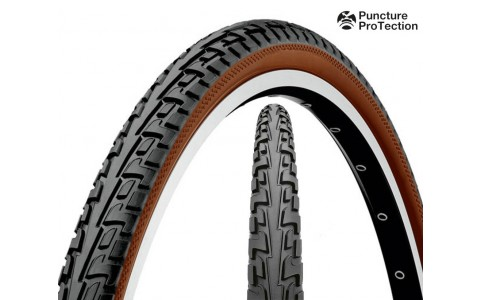 Anvelopa, Continental, Tour Ride Puncture - ProTection, Negru-Maro, 47-559 (26x1,75), 2014