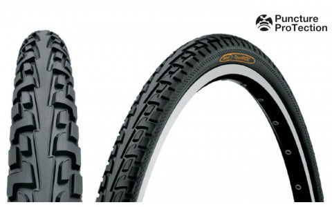 Anvelopa, Continental, Ride Tour Puncture-ProTection, 37-622, 28x1 3/8x1 5/8, Negru