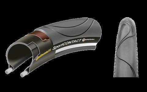 Anvelopa Bicicleta, Continental, SportContact II, 32-622 (700X32C[700C]), Negru