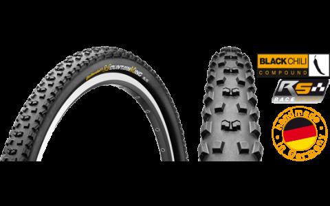 Anvelopa Bicicleta, Pliabila, Continental, Mountain King 2, RaceSport BlackChili, 27.5x2.2, 55-584, 2014