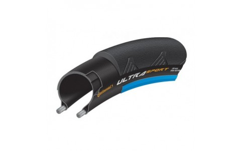 Anvelopa pliabila Continental UltraSport2 25-622 negru/albastru