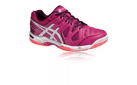 Pantofi Tenis, Asics, Gel-Game 5 Clay Tennis, Mov-Alb, Femei