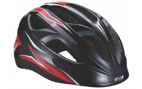 Casca bicicleta BBB Hero flash racing Negru-Rosu Marimea M (51-55 cm)