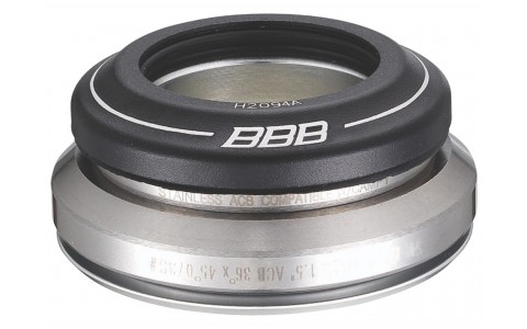Cuvetarie, BBB, Tapered, 1.1/8-1.5 inch, Con, Aluminiu, 8 mm
