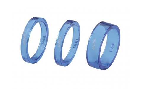 Distantier Furca, BBB, BHP-37, 1-1/8 inch, 2x5 mm, 1x10 mm, Albastru