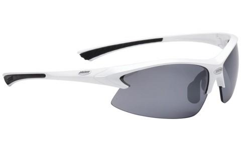 Ochelari Sport, BBB, BSG-38, Impulse, Alb, Lentile Fumurii, Protectie UV