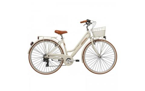 Bicicleta Dama Adriatica City Retro Donna 28 crem 45 cm
