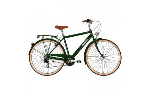 Bicicleta Adriatica City Retro Man verde 2018-500 mm