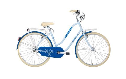 Bicicleta Oras Pentru Femei, Adriatica, Holland Lady, Albastru, Cadru 450 mm, 2016