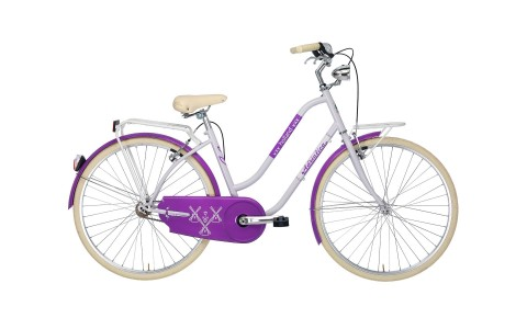 Bicicleta Oras Pentru Femei, Adriatica, Holland Lady, Mov, Cadru 450 mm, 2016