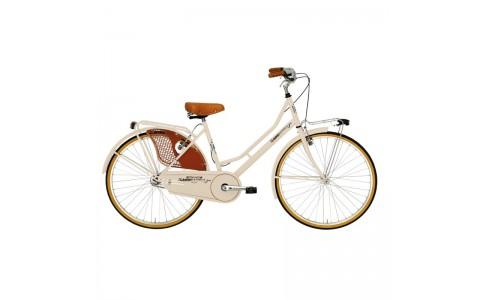 Bicicleta Dama Adriatica Lady Week End 26 1v crem 45 cm