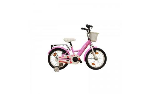 Bicicleta copii Robike Alice 16 roz