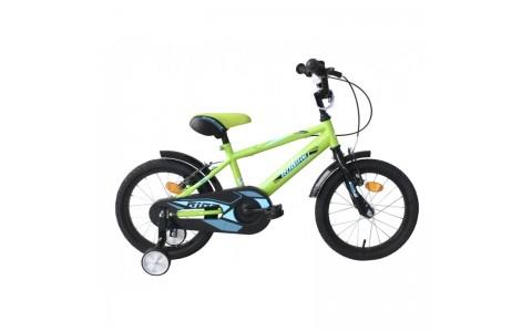 Bicicleta copii Robike Ronny 16 verde
