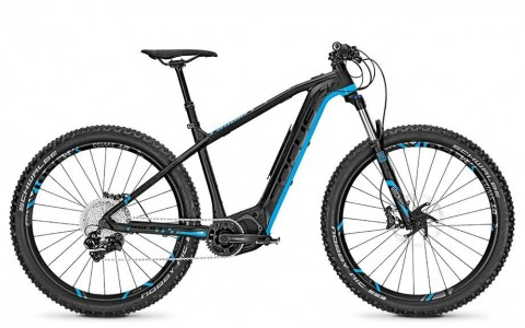 Bicicleta electrica Focus Bold2 29 11G blackm/blue 36v/10,5ah 2018 - 440mm (M)