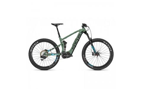 Bicicleta electrica Focus Jam2 Pro Plus 11G 27.5 greenm/blackm 36v/10,5ah 2018 - 470mm (L)