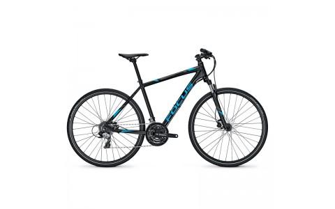 Bicicleta Focus Crater Lake Evo 24G DI magicblackmatt 2017 - 600mm (XL)