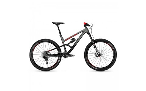 Bicicleta Focus Sam Lite 12G 27.5 magicblack/irongreymatt 2018 - 450mm (M)