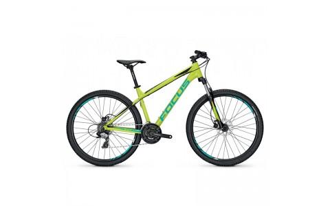 Bicicleta Focus Whistler Elite 27 24G limegreen 2017 - 360mm (XS)