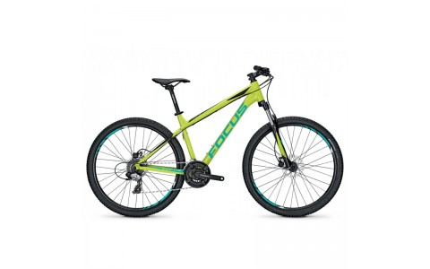 Bicicleta Focus Whistler Elite 27 24G limegreen 2017 - 400mm (S)