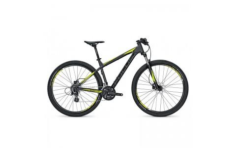 "Bicicleta MTB, Focus, Whistler Evo 24G, Negru-Verde, 27.5"", 400 m"