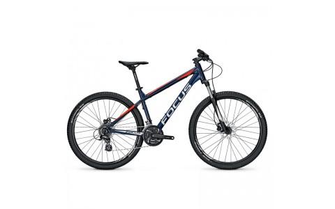 "Bicicleta MTB, Focus, Whistler Evo 24G , Albastru-Rosu, 27.5"", 40 cm"