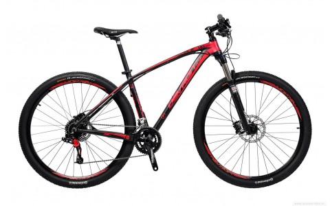 Bicicleta MTB, Devron Riddle Race R7.9, Black Passion, 29 inch, M - 457/18 inch