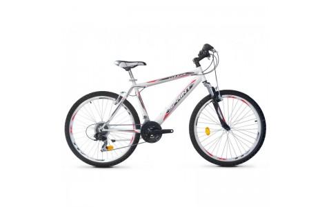 Bicicleta Robike Cougar 26 alb/negru 2017-480 mm