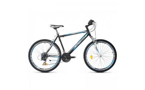 Bicicleta Robike Cougar 26 negru/alb 2017-480 mm