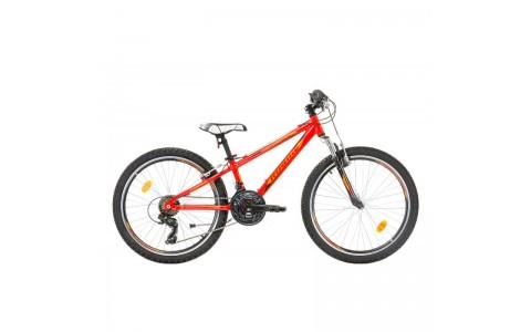 Bicicleta Robike Hat Trick 24 rosu/orange 2017