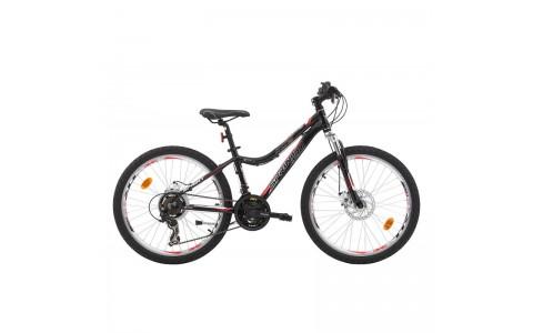 Bicicleta Robike Hunter 24 negru/rosu 2017