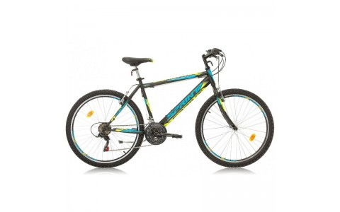 Bicicleta Sprint Active 26 negru/cyan 2017-480 mm